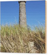 Skagen Denmark - Lighthouse Grey Tower Wood Print
