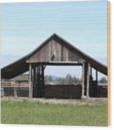 Skagit Barn Sb5019 Wood Print