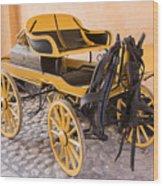 Skansen Carriage Wood Print