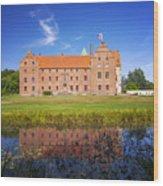 Skarhult Castle Wood Print