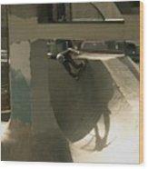 Skate Wood Print