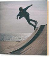 Skater Boy 007 Wood Print
