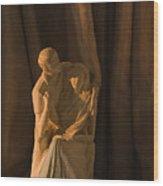Skc 5259 A Romantic Couple Wood Print