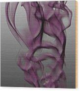Skeletal Flow Wood Print