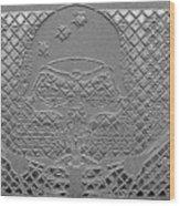 Skeletal Man Wood Print