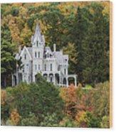 Skene Manor Wood Print