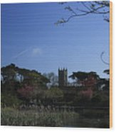 Skerries Church And Grounds Wood Print