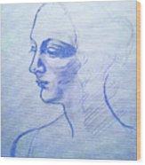 Sketch Wood Print