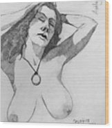 Sketch For Ashley Wood Print