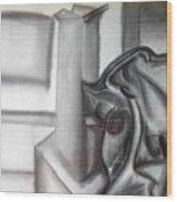 Sketchy Wood Print