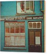 Skibbereen Shop Front Wood Print