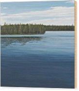 Skinners Bay Muskoka Wood Print