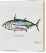 Skipjack Tuna Wood Print
