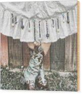Skirts And Dangles Wood Print