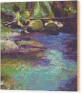 Skokomish River Wood Print