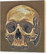 Skull. Wood Print