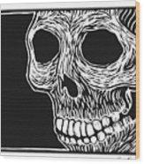Skull Aware Wood Print