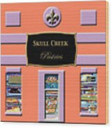 Skull Creek Pastries Wood Print