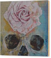 Rose Wood Print by Michael Creese