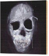 Skull II Wood Print