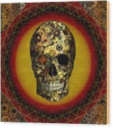 Skullgear Wood Print