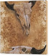 Skulls Wood Print