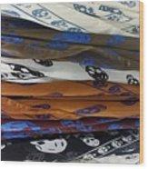 Skullscarfs Wood Print
