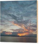 Peaceful Sky #2 Wood Print