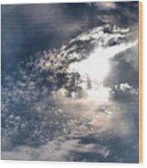 Sky Bright Wood Print