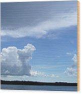 Sky Calm Wood Print