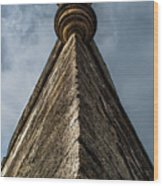 Sky Catle Wood Print