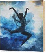 Sky Dancer 1 Wood Print