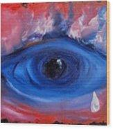 Sky Eye                                  71 Wood Print