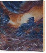 sky herd IV Wood Print
