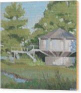 Sky Loft House Wood Print