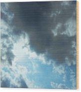 Sky Of Hope Wood Print