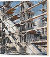 Sky Ramp Wood Print