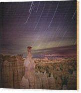 Sky Scraper Wood Print