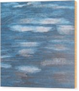Sky Sketch Wood Print