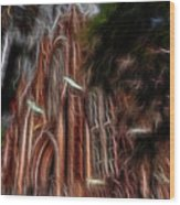 Sky Spirits 2 Wood Print