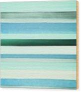 Sky Stripes 13 Wood Print
