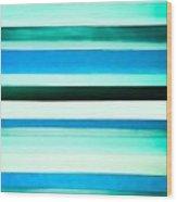 Sky Stripes 14 Wood Print
