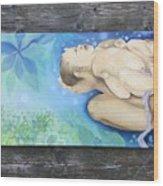 Sky Woman's Daughter Wood Print