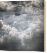 Sky1 Wood Print