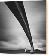 Skye Bridge Wood Print