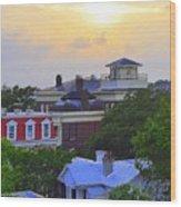 Skyline Charleston Sc Wood Print