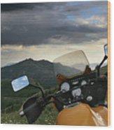 Skyline Drive Above Davis County Wood Print