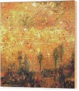 Skyline Of Marrakech Wood Print