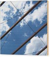 Skylines Photograph Wood Print