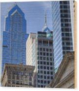 Skyscraper City Center  Liberty Place Wood Print